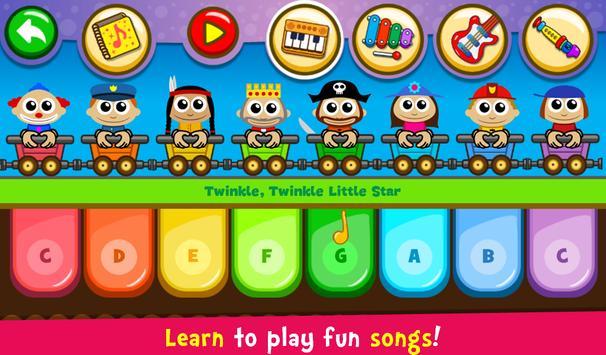 17 Schermata Pianoforte per bambini - Musica e canzoni