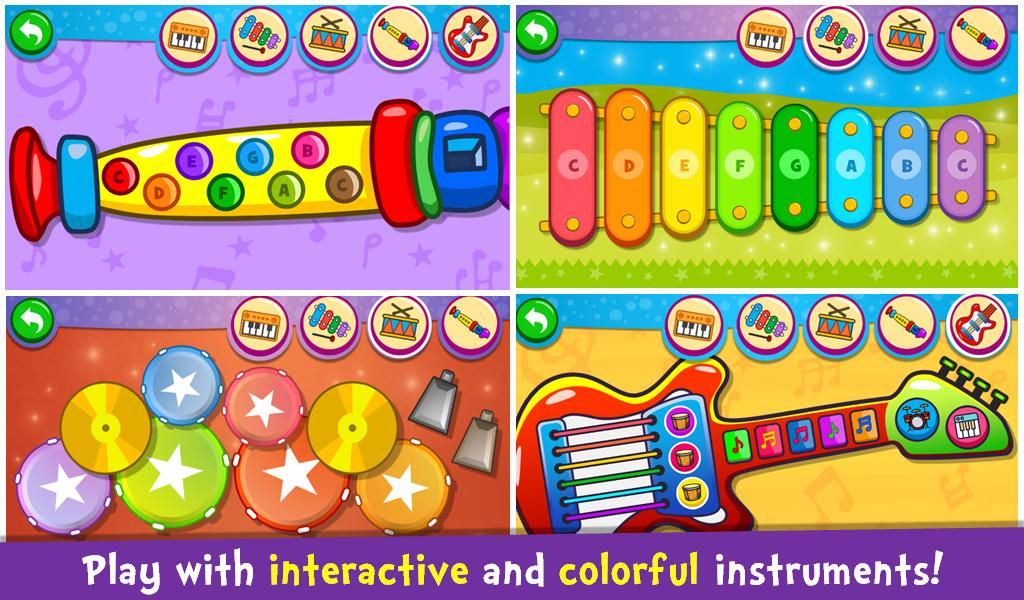 Piano Kids - Music & Songs download app for Android - eenternet