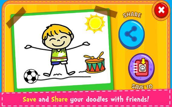 Magic Board - Doodle & Color screenshot 3