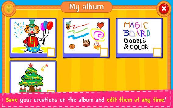 Magic Board - Doodle & Color screenshot 4