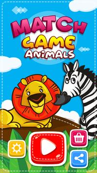 Match Game - Animals poster