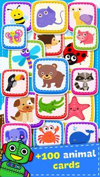 Jogo de Memória - Animais imagem de tela 13
