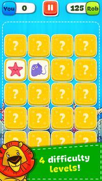 Jogo de Memória - Animais imagem de tela 15