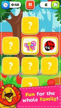 Jogo de Memória - Animais imagem de tela 1