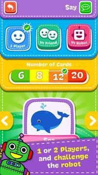 Jogo de Memória - Animais imagem de tela 2