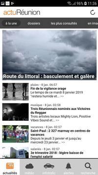 actu Réunion poster