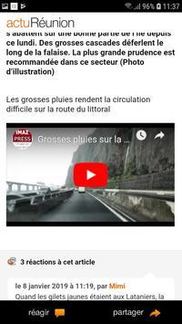 actu Réunion screenshot 1