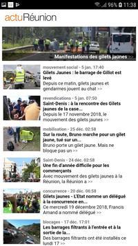actu Réunion screenshot 2