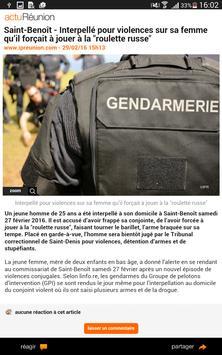 actu Réunion screenshot 9