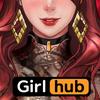 걸허브 (GirlHub) - 성인들을 위한 19금 퍼즐 성인게임 성인방송 아이콘
