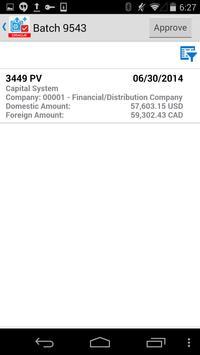 Voucher Batch Appr for JDE E1 screenshot 1
