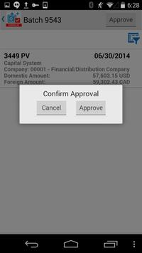 Voucher Batch Appr for JDE E1 screenshot 4