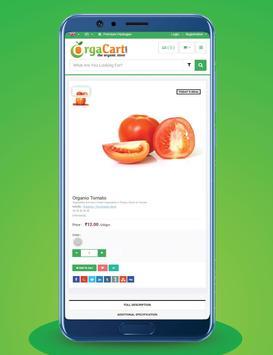 OrgaCart Lite screenshot 1
