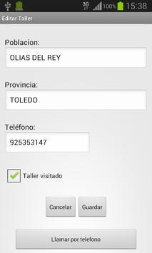 DaciaTalleres screenshot 5