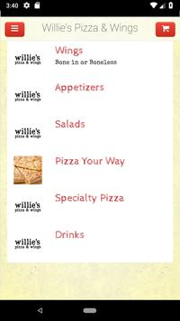 Willie's Pizza & Wings screenshot 1