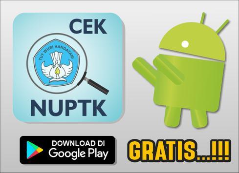 Cara Cek NUPTK Online poster