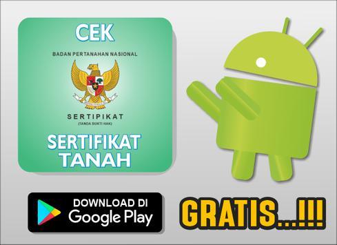 Cara Cek Sertifikat Tanah Online poster