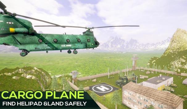 US Offroad Army Cargo Plane Transport Sim 2019 screenshot 10