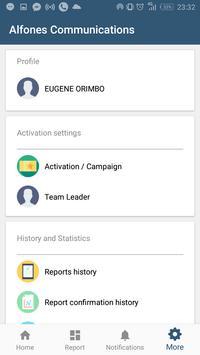 Alfones Communications screenshot 2