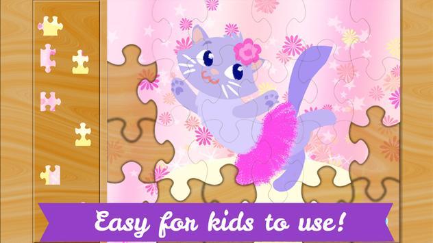Ballerina Puzzles for Kids screenshot 2