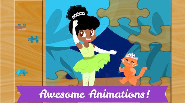Ballerina Puzzles for Kids screenshot 3