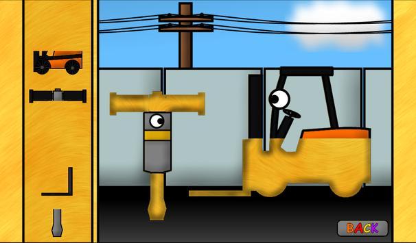 Kids Trucks: Puzzles screenshot 13
