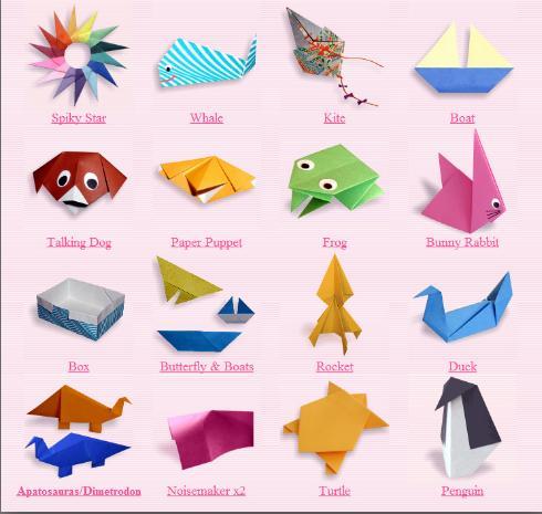 Creative Arts: Origami Talking Dog | 465x490