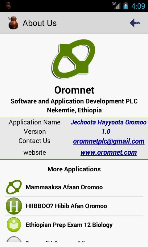 Jechoota Hayyoota Oromoo for Android - APK Download