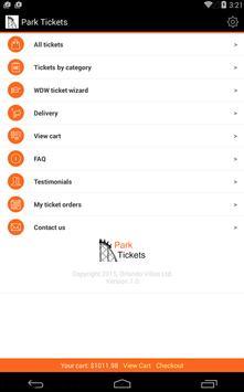 Park Tickets screenshot 10