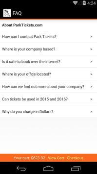 Park Tickets screenshot 2