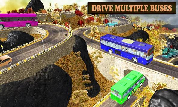 New Offroad Bus Coach Driving Simulator 2019 poster