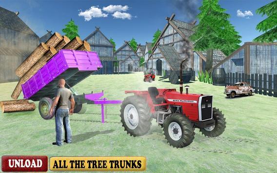 Farming Simulator Offroad 3D Tractor Driving Game screenshot 4