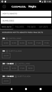 Cinemark Argentina screenshot 1