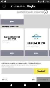 Cinemark Argentina screenshot 2