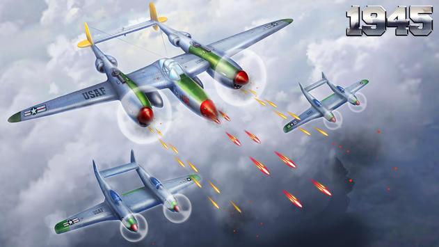 1945 वायु सेना: हवाई जहाज शूटिंग खेल - नि: शुल्क स्क्रीनशॉट 5