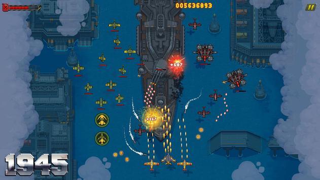 1945 वायु सेना: हवाई जहाज शूटिंग खेल - नि: शुल्क स्क्रीनशॉट 7