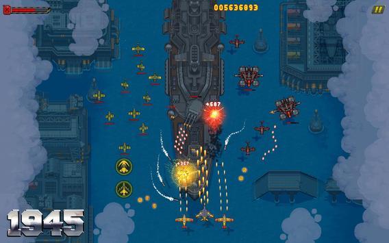 1945 वायु सेना: हवाई जहाज शूटिंग खेल - नि: शुल्क स्क्रीनशॉट 14