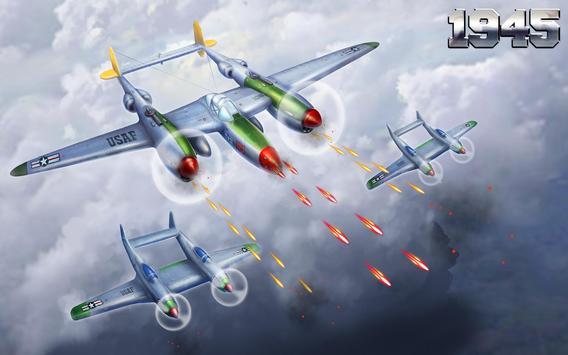 1945 वायु सेना: हवाई जहाज शूटिंग खेल - नि: शुल्क स्क्रीनशॉट 21