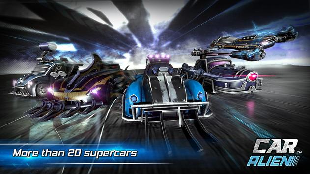 Car Alien - 3vs3 Battle screenshot 3