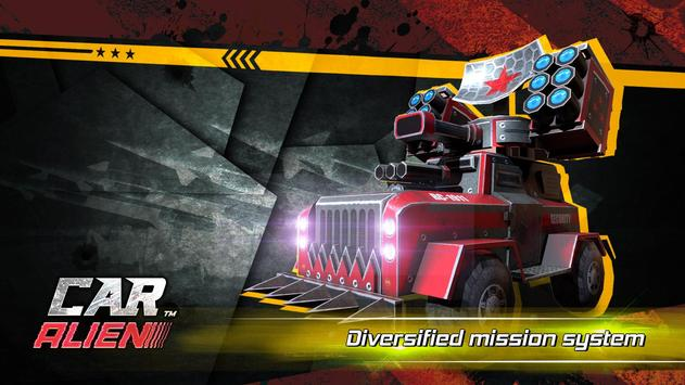 Car Alien - 3vs3 Battle screenshot 6