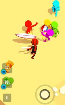 Stickman 3D - Street Gangster screenshot 11