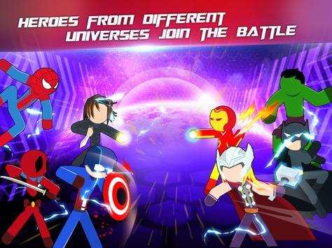 Super Stickman Heroes Fight screenshot 11
