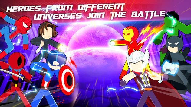 Super Stickman Heroes Fight screenshot 1