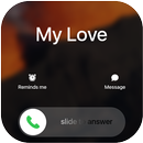 OS14 style call screen theme, full screen video APK Android