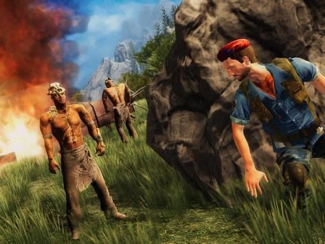 Army Commando Jungle Survival screenshot 8