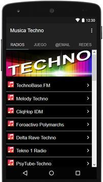 Musica Techno poster