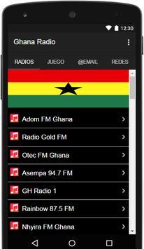 Ghana Radio Stations Live poster