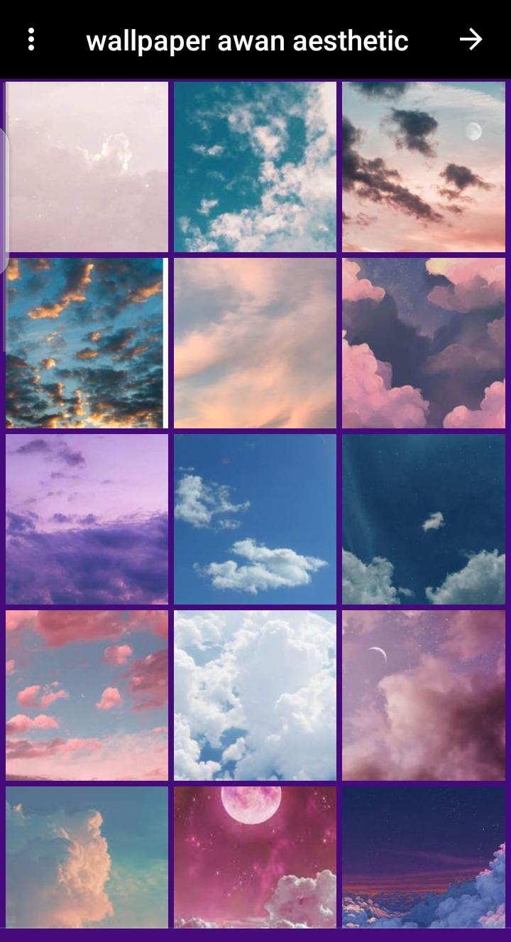 wallpaper awan aesthetic for Android   APK Download