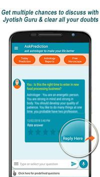 Ask Prediction: Ask Guru on Trusted Astrology App screenshot 1