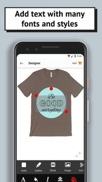 T-shirt design and print - by oShirt screenshot 2